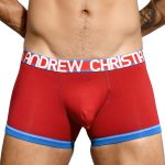 Andrew Christian Almost Naked Cotton Boxer Red